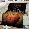Basketball Court Customized Blanket