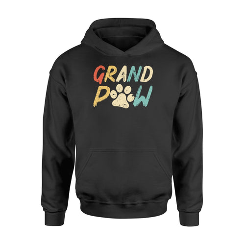 Grand Paw Grandparent Pet Christmas Gift Standard Hoodie - Family Presents
