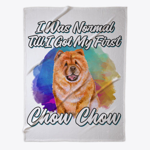 Funny Chow-Chow Lover Gift - Fleece Blanket