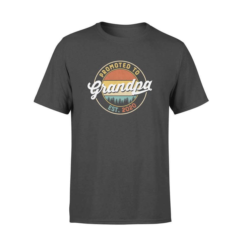 Grandpa - promoted to est. 2020 Standard T-shirt