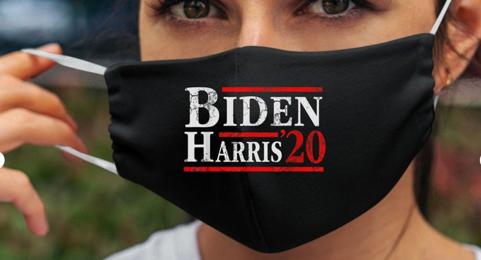 Joe Biden Kamala Harris 2020 Cloth Mask