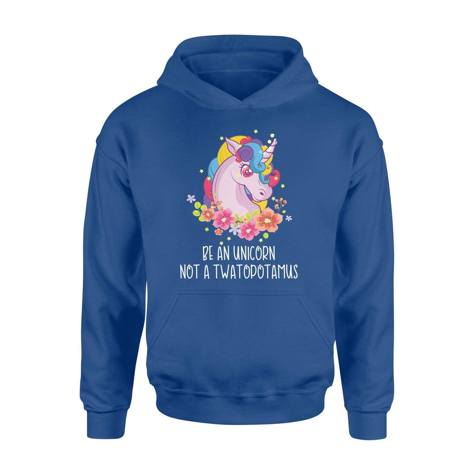 Be An Unicorn Hoodie - Family Presents