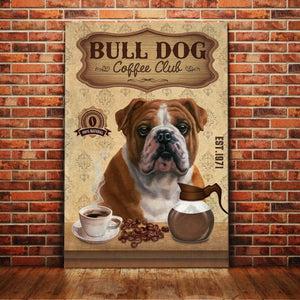 Bulldog Coffee Club - Anniversary Birthday Christmas Housewarming Gift Home