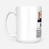 donald trump you're terrific dad mug - White Mug