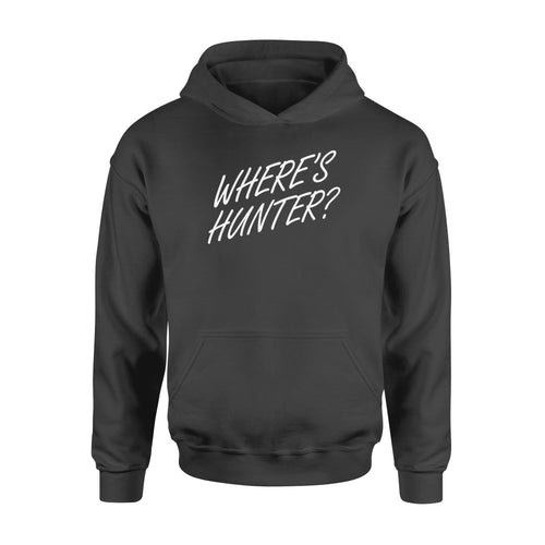 Where's Hunter - Standard Hoodie - Family Presents