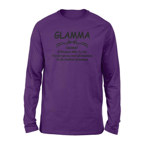 Glamma definition - Standard Long Sleeve - Family Presents