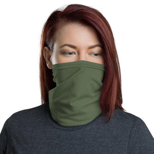Olive Green Face Gaiter Cover