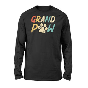 Grand Paw Grandparent Pet Christmas Gift Standard Long Sleeve - Family Presents