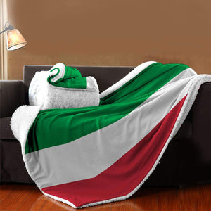 Soft Thick Flag of Italy Blanket
