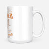 Anyman can be a father - dragon daddy - White Mug