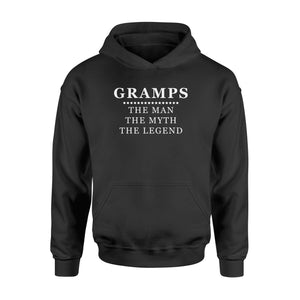 Gramps the man the myth the legend - Standard Hoodie - Family Presents