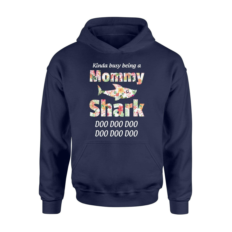 A Mommy Shark Hoodie - Family Presents