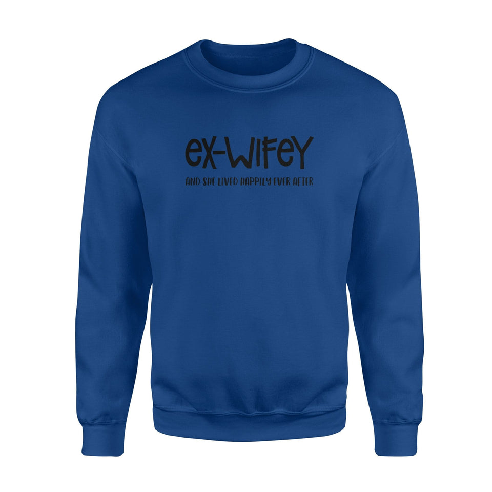 Ex-wifey Fleece Sweatshirt - Family Presents