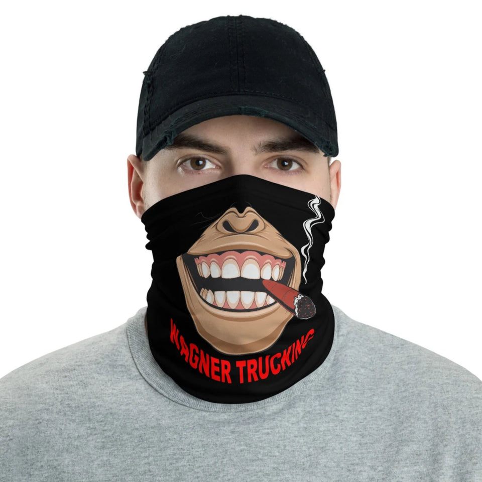 Cigar Gorilla Face Your Text Cloth Mask Face Gaiter Cover Free Shipping
