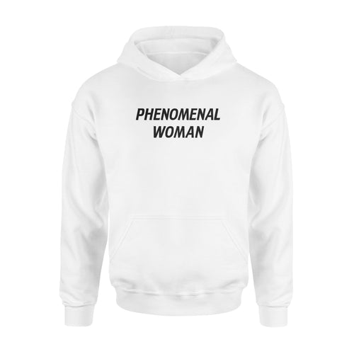 Phenomenal woman - Standard Hoodie - Family Presents