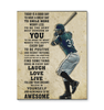 Baseball Today is a Good Day Canvas Prints