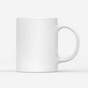 All I want is for my husband in heaven - White Mug