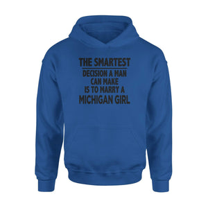 Marry A State Girl Hoodie - Family Presents