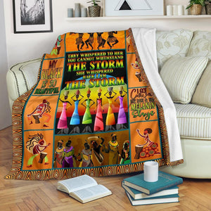 African Culture VI Blanket