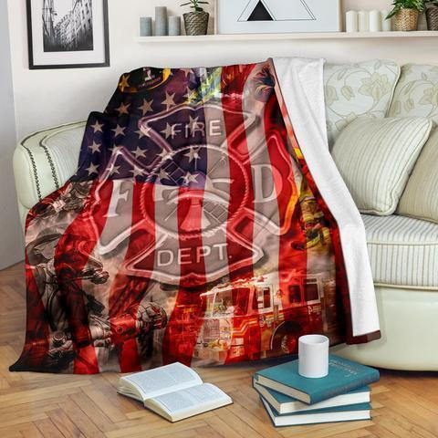 Firefighter XXXIV Blanket