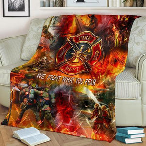 Firefighter Blanket LXV