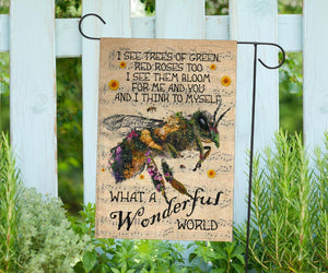 Bee Garden Flag, House Flag PN50F