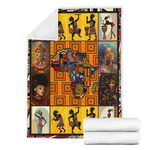 African Culture LXVI Blanket