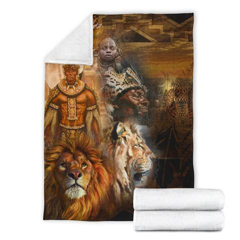 African Culture LXXIX Blanket