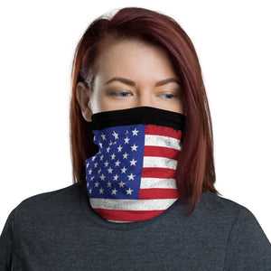 American Flag Face Gaiter Cover