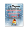 Girlfriend To Boyfriend That I Promise To Encourage And Inspire You Canvas Print