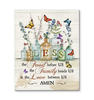 Canvas - Butterfly - Bless