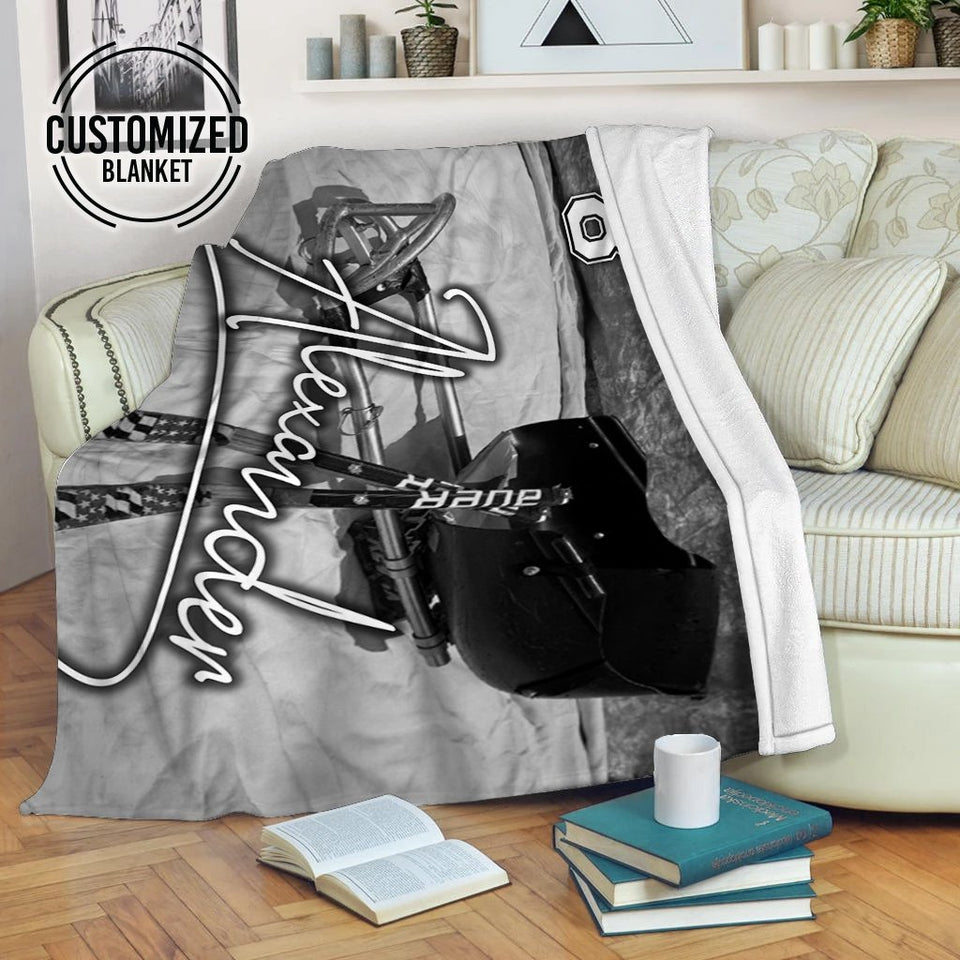 Sledhockey Stuff Custom Blanket