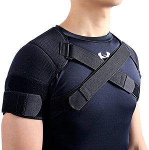Breathable and Comfortable double Shoulder Support Neoprene Wrap brace