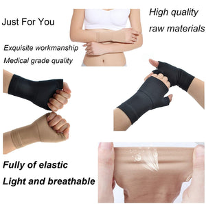 Compression Wrist Brace,Arthritis Gloves for Wrist Pain and Fatigue Relieve