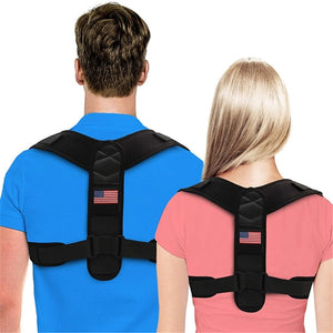 Adjustable Back Brace Posture Corrector Great For Spine Support and Back Pain