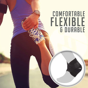 Breathable Neoprene Ankle Support Brace for protect sprained ankle
