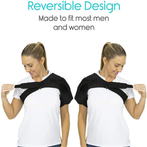 Adjustable & Compression Shoulder Stability Brace for Pain Relief