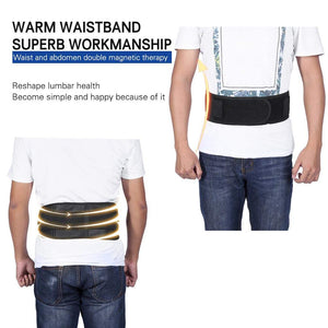 Adjustable Waist Self heating Support Belt Great for Lower Back Pain Relief
