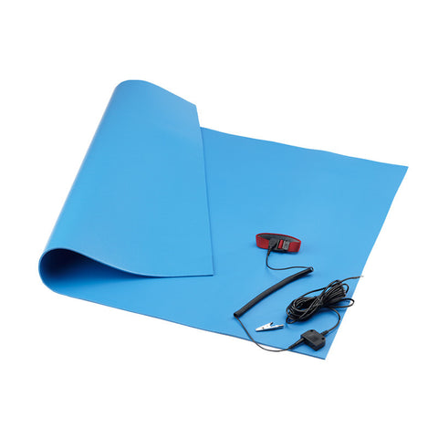 <center>S1512WS: Workstation Kit: Three-Layer Static Dissipative Mat</center>