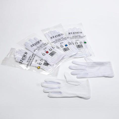 <center>S101GD: Static Dissipative Glove with PVC Dot </center>