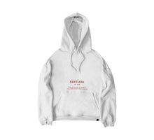 Red Cross Hoodie - WHITE