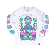 Grow and Evolve l/s shirt - WHITE