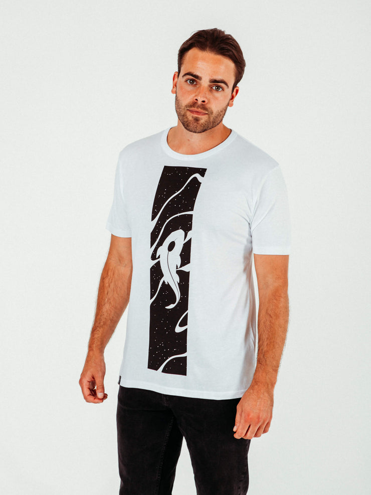 Koi White T-Shirt - TOMOTO