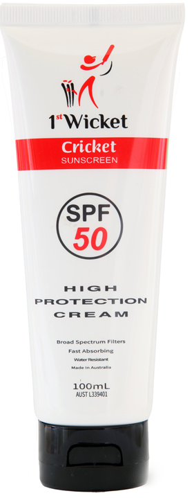 1<span>st</span>Wicket Cricket Sunscreen