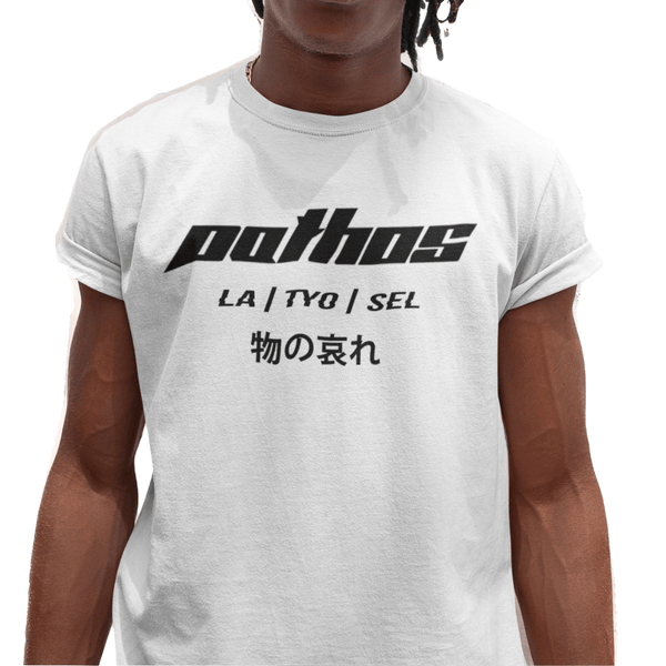 Classic Logo Tee White - Pathos Of Things