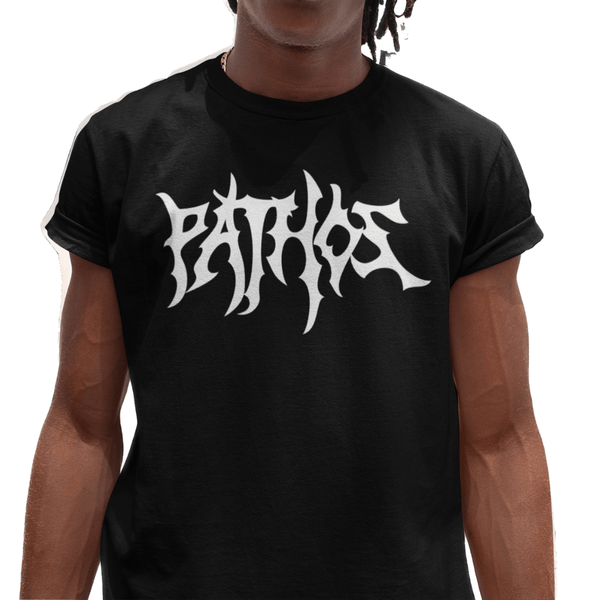Death Metal Tee (Black/White) - Pathos Of Things