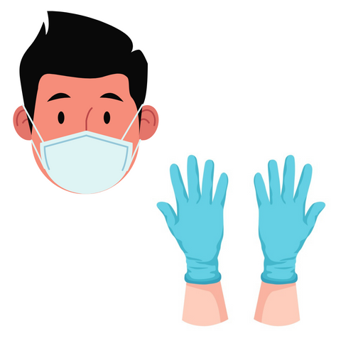 Here at Captain Rinse Mobile Car Detailing, all of our staff are required to wear masks and gloves on arrival and during the cleaning.