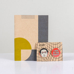 Pizza Slice Notebook and Pin Set