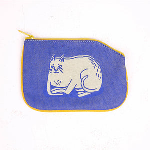 No Business Cat Coin Purse