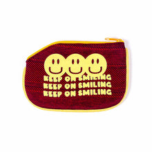 Load image into Gallery viewer, Keep on Smiling Coin Purse
